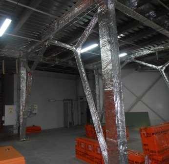 Огнезащитное покрытие для металлоконструкций Огнемат Мет